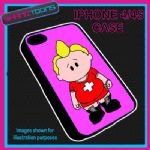 FITS IPHONE 4 / 4S PHONE ONLY GAY IN THE VILLAGE PLASTIC COVER PINK